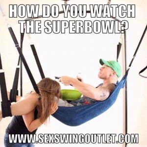 sex swing super bowl party